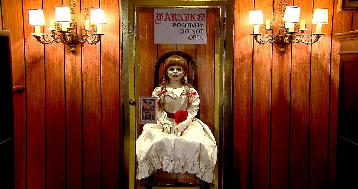Boneca Annabelle usada em filme estará presente na Horror Expo 2019