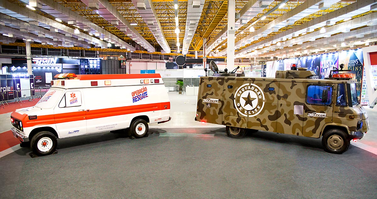 Escape Time levará Truckescapes para a Horror Expo 2019
