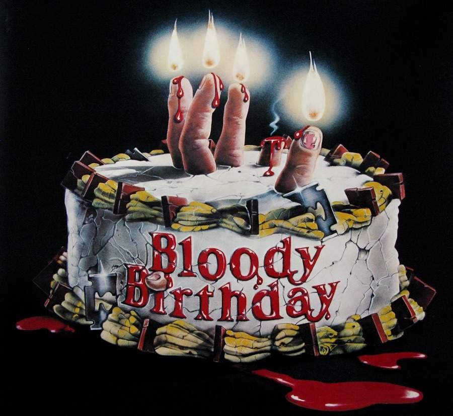 Horror Facts Birthday Cake