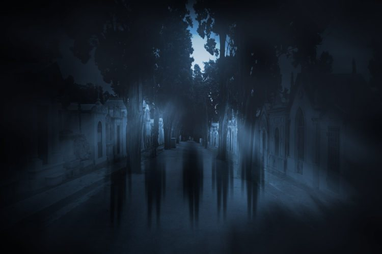 Communicating with paranormal entity through technology on smart phones.