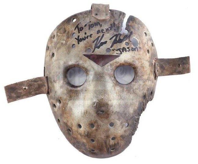 Jason Goes to Hell Signed Mask