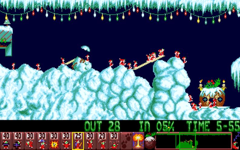 christmas-lemmings
