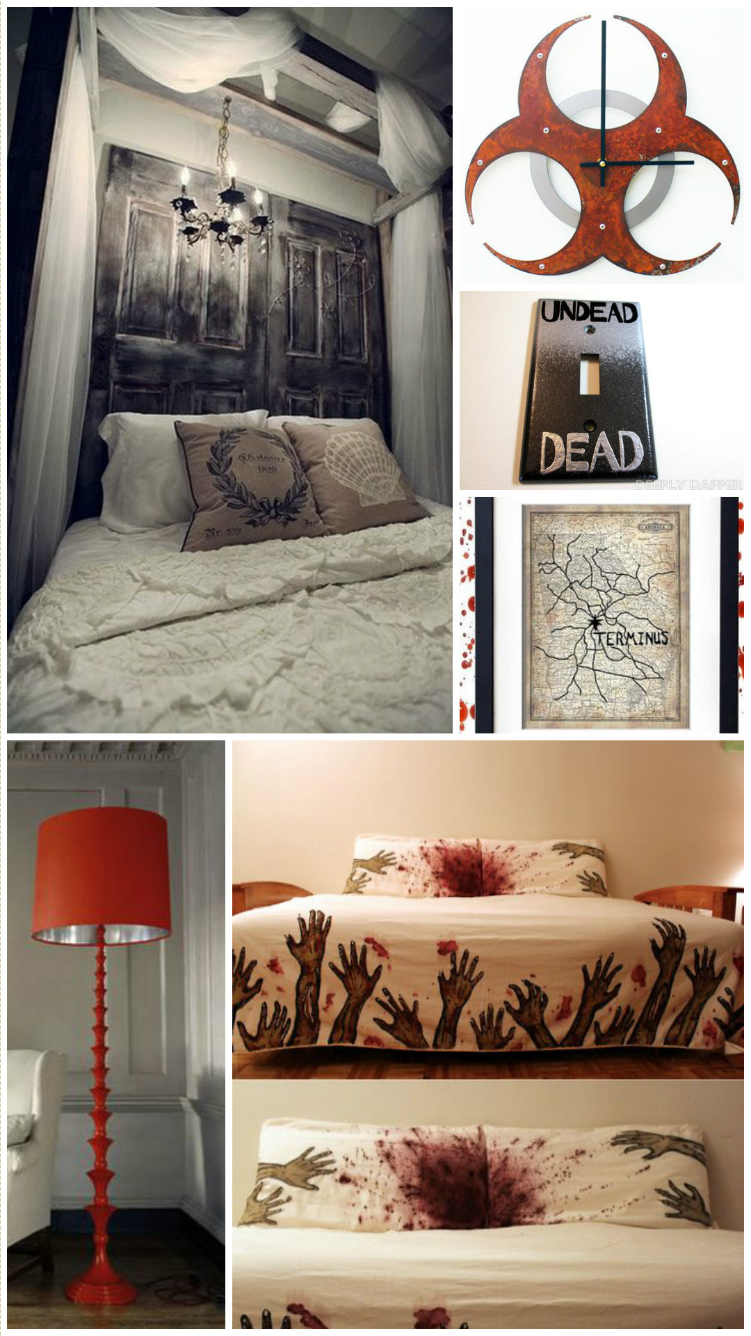 How to be a Chic Walking Dead Fan Horror Home Decor  Horror Made