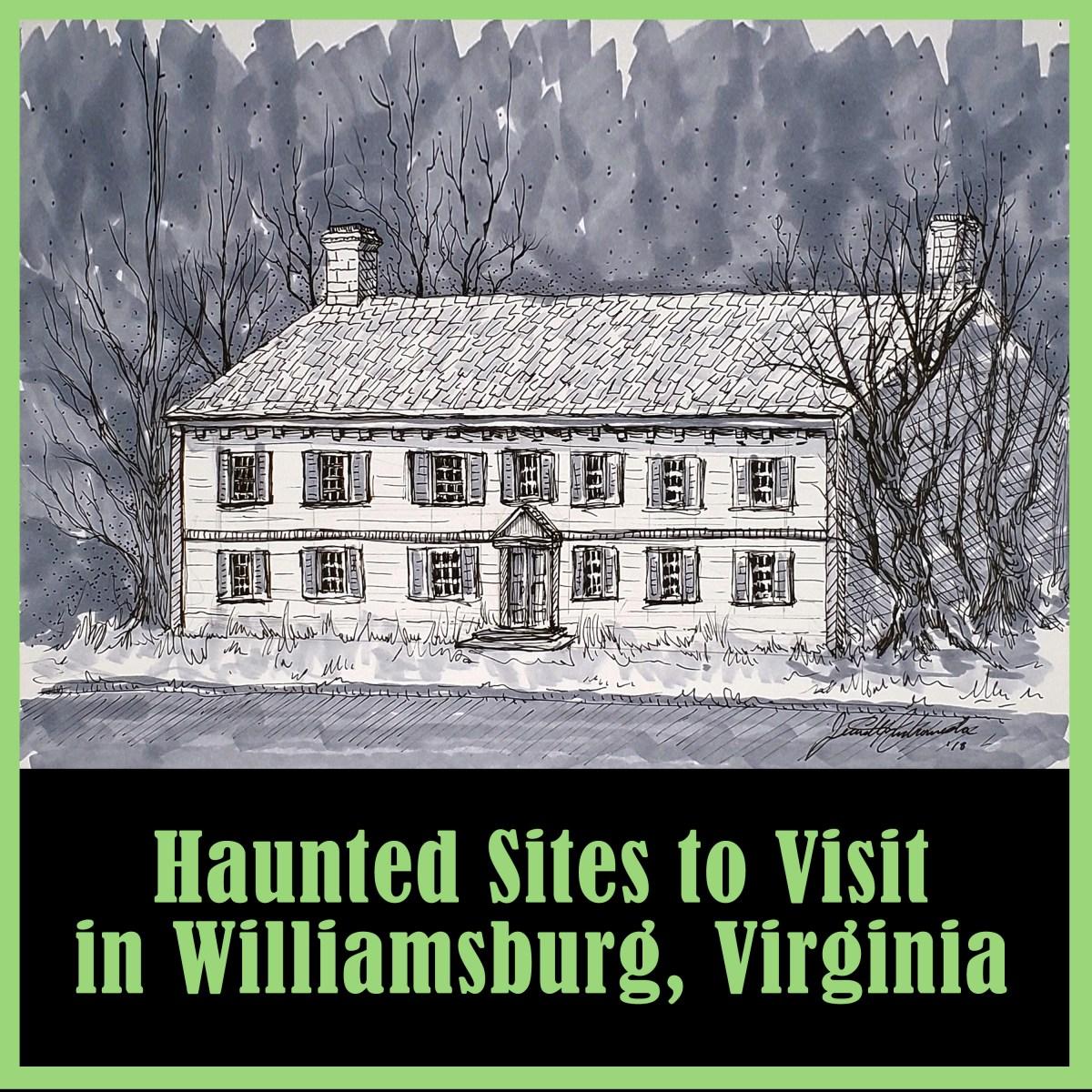Haunted Sites Visit In Williamsburg Virginia Horror
