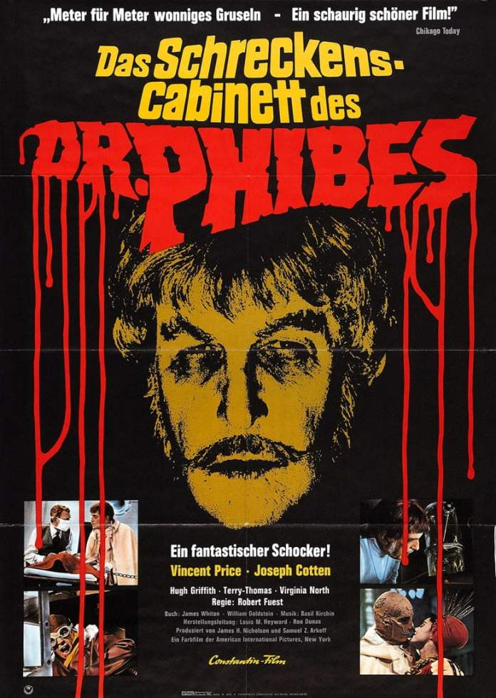 abominable dr phibes poster 1