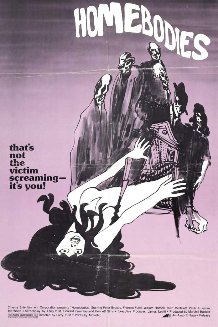 homebodies 1974 poster 1