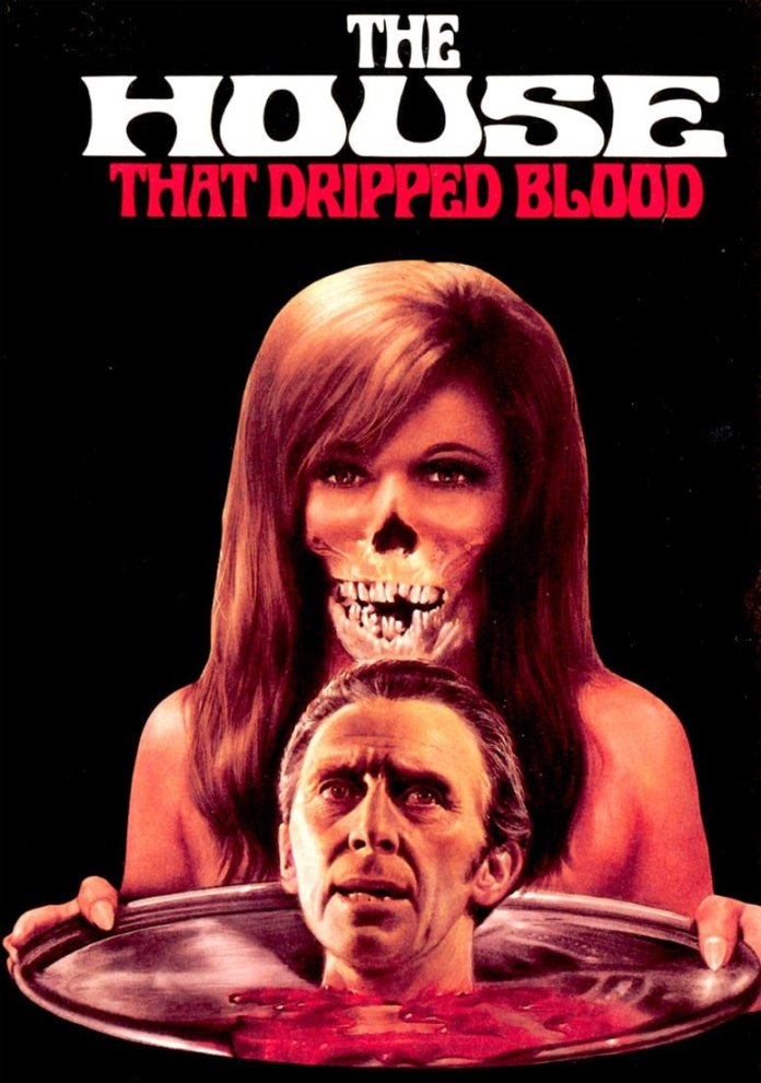 house dripped blood poster 4
