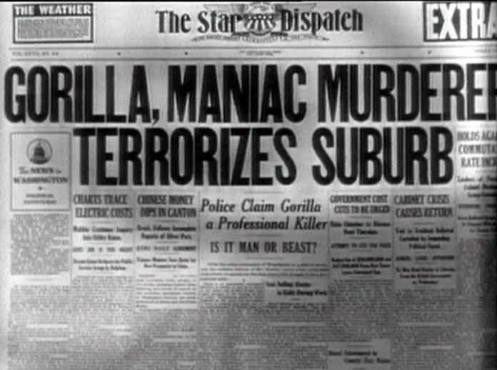 Gorilla 1939 movie