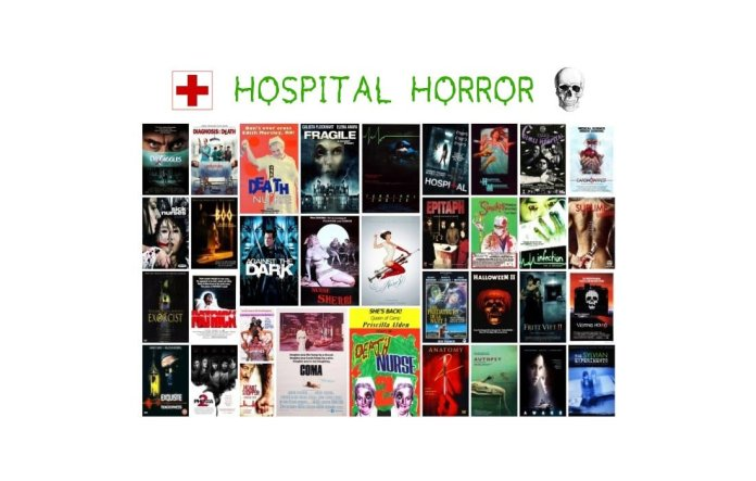 Hospital Horror: Όταν ο τρόμος επισκέπτεται τα νοσοκομεία...