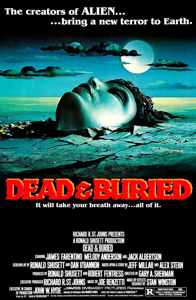 dead buried blu ray