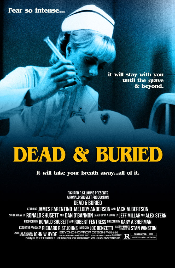 dead buried poster