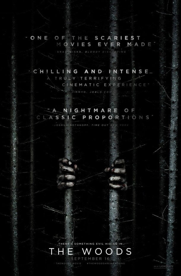 the woods poster
