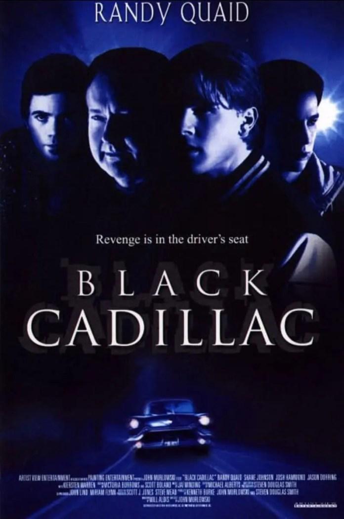 black cadillac 2003