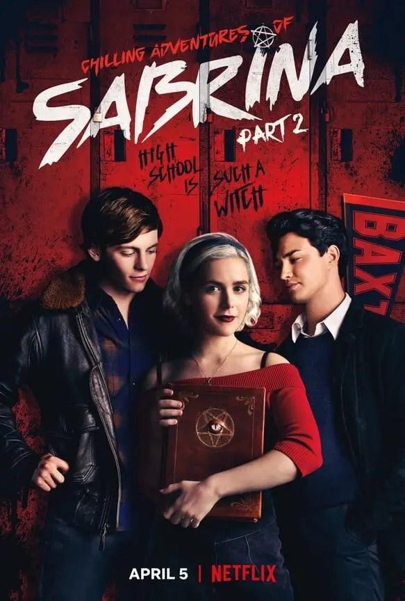 chilling adventures of sabrina season 2 poster