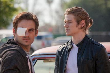 """(L-R) Kevin Zegers as Chuck and Lucas Till as Bobby in the thriller film """"THE CURSE OF DOWNERS GROVE"""" an Anchor Bay Entertainment release. Photography credit: Bryan Giardinelli."""