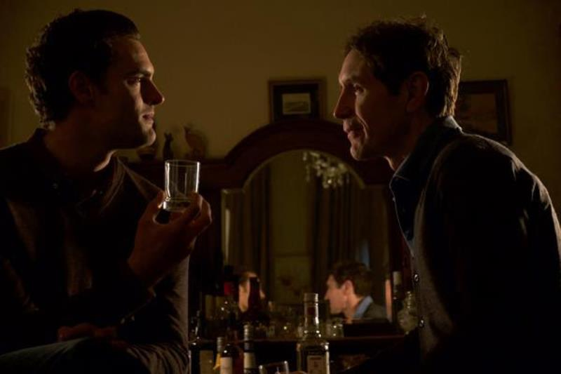 Actors Tom Bateman (Marc) and Paul McGann (Josh). Photo Credit: Nick Wall ©Band B Films Ltd