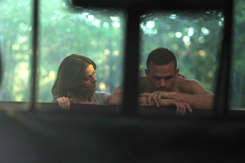 "(L-R) Brit Shaw as Brinn Howarth and Cam Gigandet as Gabriel Howarth in the action thriller ""THE SHADOW EFFECT"" a Momentum Pictures release. Photo courtesy of Momentum."