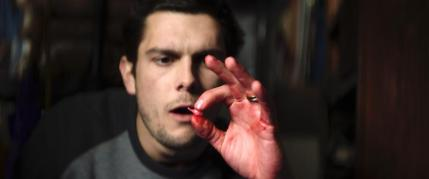 """Dylan McTee as Jeff in the thriller film """"MIDNIGHTERS"""" a Graystone Pictures release. Photo courtesy of Graystone Pictures."""