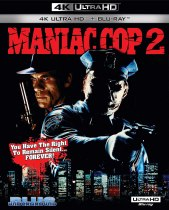 Maniac Cop 2 (1990) (Special Edition 4K Ultra HD + Blu-ray) Available October 19
