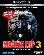 Maniac Cop 3: Badge Of Silence (1992) (Special Edition 4K Ultra HD + Blu-ray) Available October 19