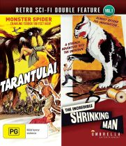Tarantula / The Incredible Shrinking Man (Import) Available August 13