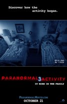 Horror History: Friday, October 21, 2011: Paranormal Activity 3 was released in theaters