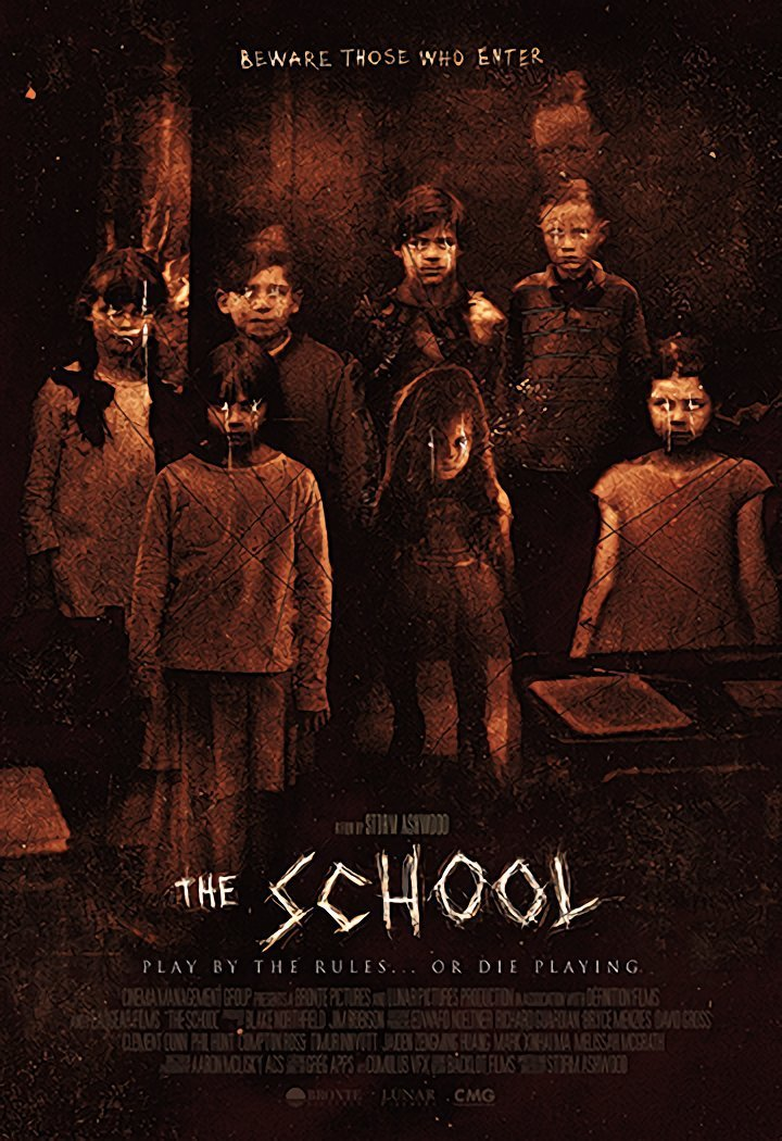 New Key Art For Supernatural Horror Film, THE SCHOOL!