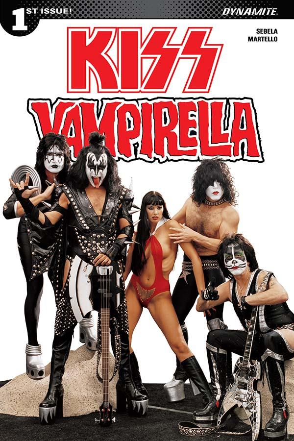 Comic Crypt: KISS / Vampirella #1 Preview