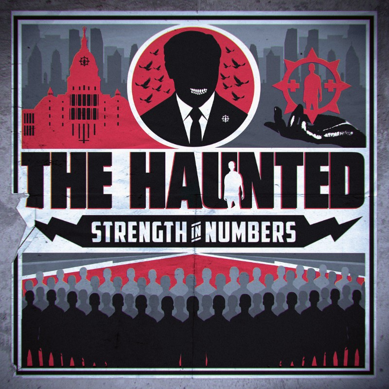 Thrashers THE HAUNTED Detail New Album 'Strength In Numbers'; Release New Video!