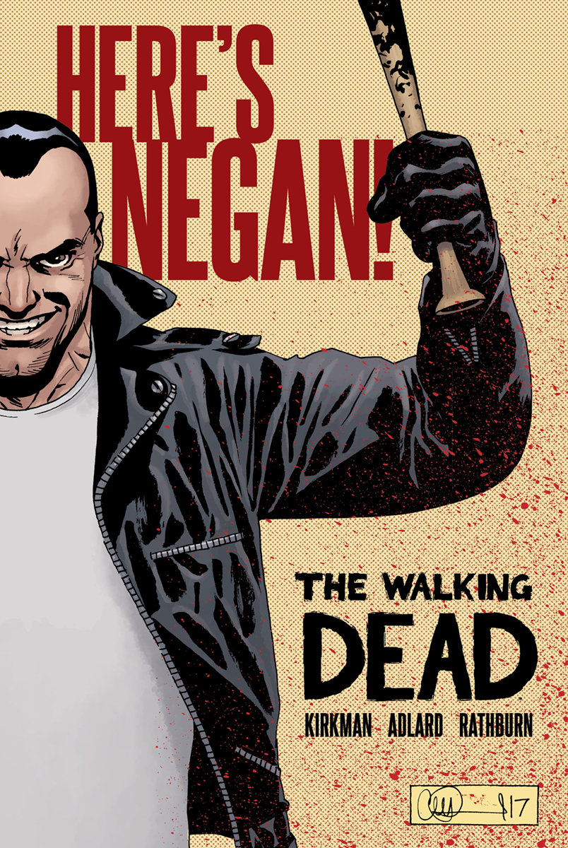 Comic Crypt: THE WALKING DEAD Negan Collection Coming To Hardback From Image Comics!