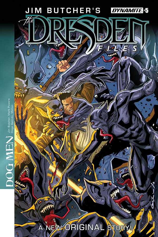 Comic Crypt: Jim Butcher's The Dresden Files: Dog Men #5 Preview