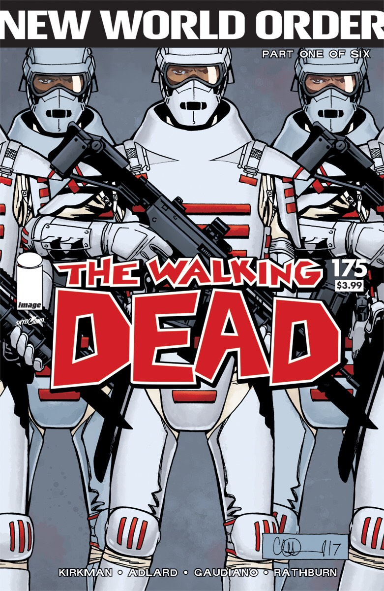 Comic Crypt: NYCC - Skybound/Image Reveal THE WALKING DEAD Cover For Issue 175