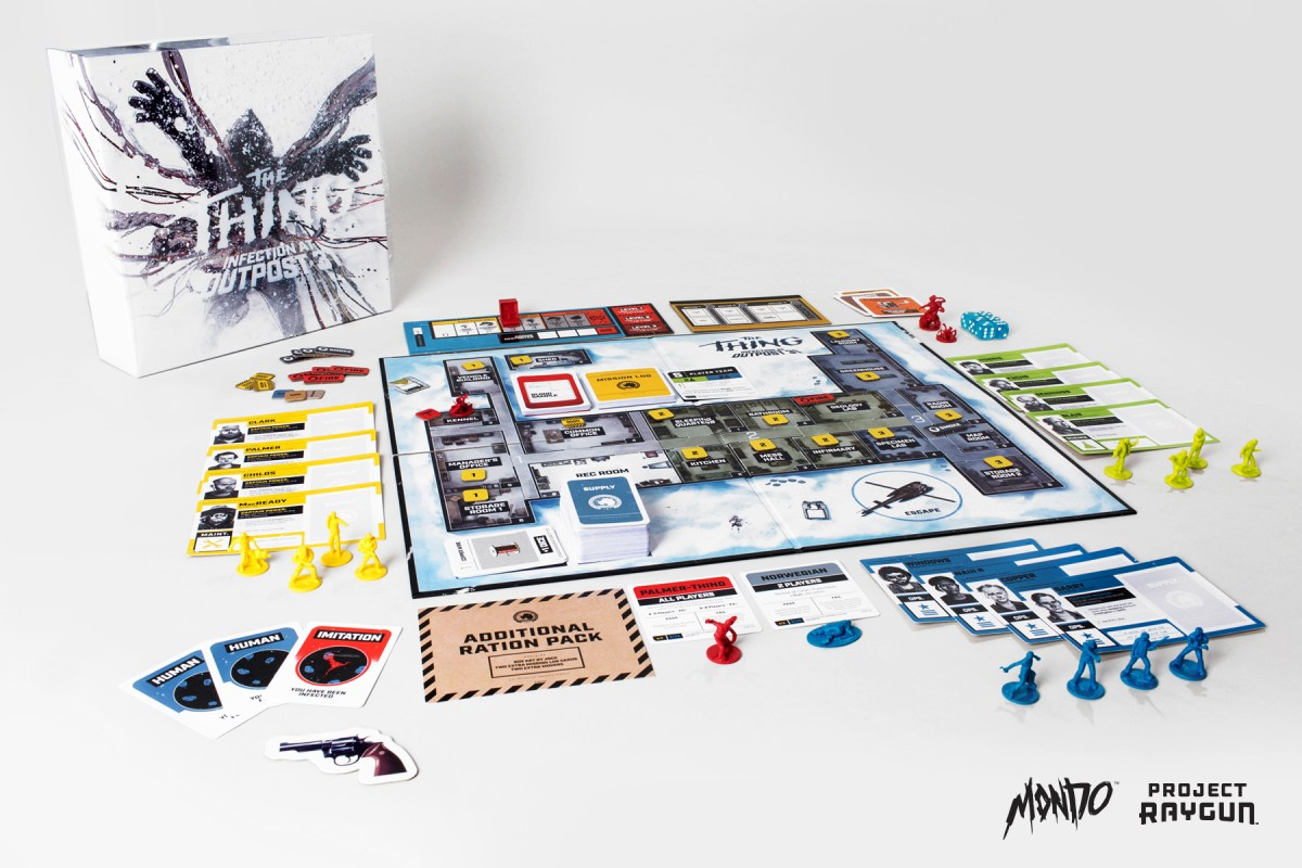 THE THING: INFECTION AT OUTPOST 31 Board Game From Mondo!