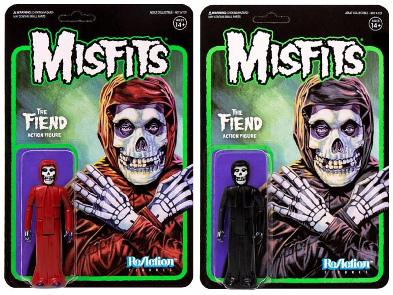 """Get Your MISFITS Mascot """"The Fiend"""" Action Figure Soon!"""