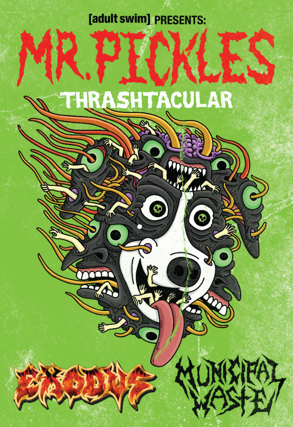 EXODUS And MUNICIPAL WASTE Head Out On The Mr. Pickles Thrash-tacular Metal Tour!