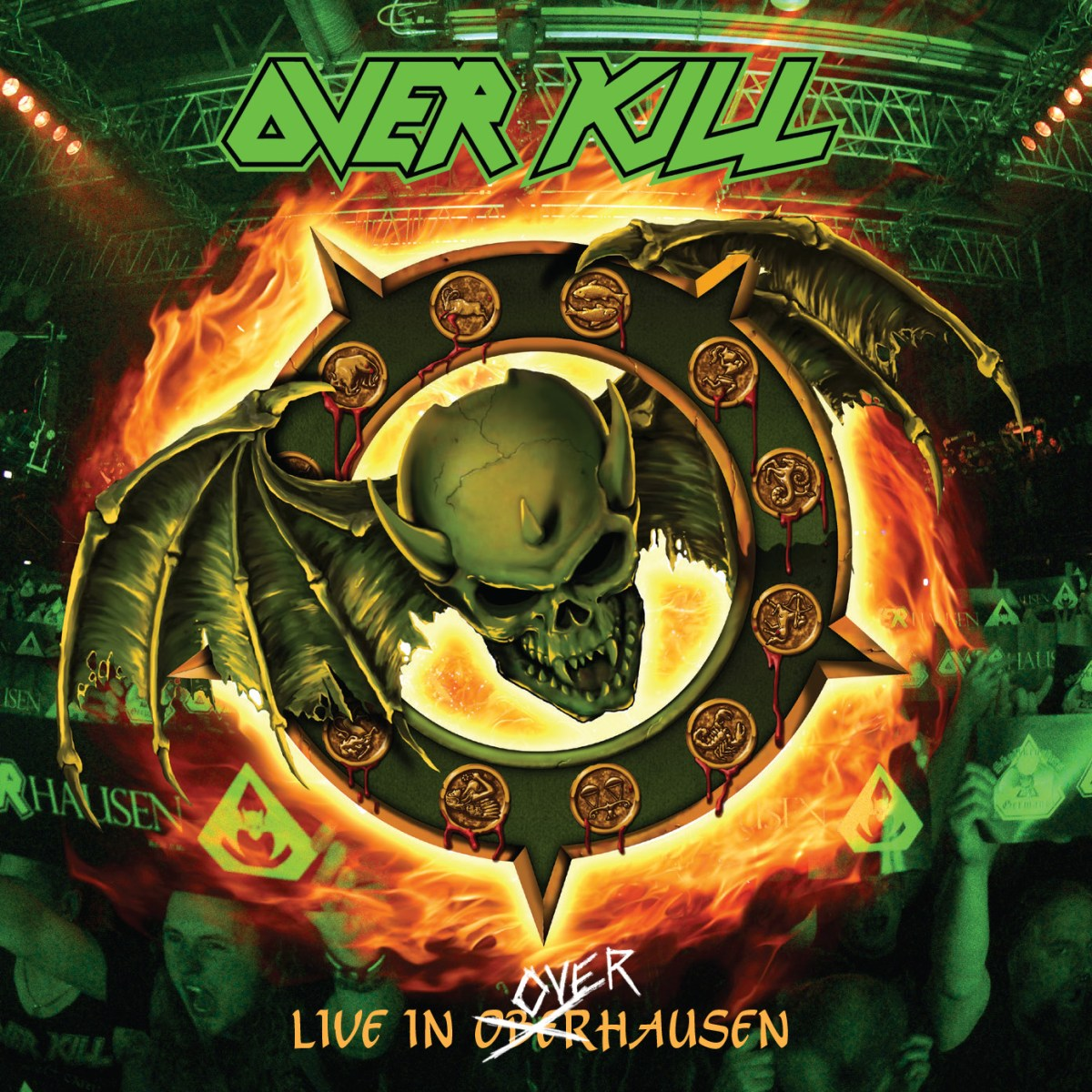"OVERKILL - Release Live Video For ""Thanx For Nothin'""!"