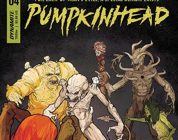 Comic Crypt: Pumpkinhead #4 Preview