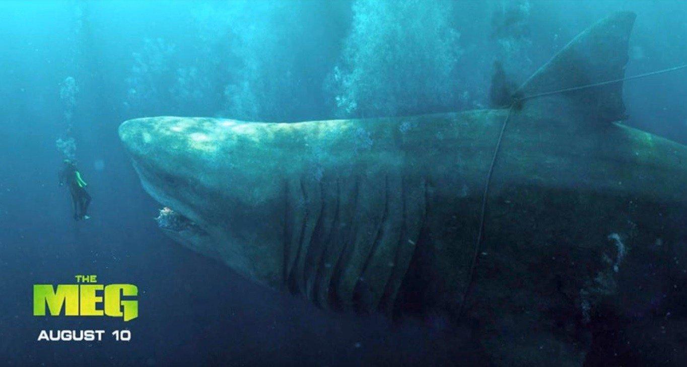 New Banner Poster For Jason Statham Shark Horror THE MEG!
