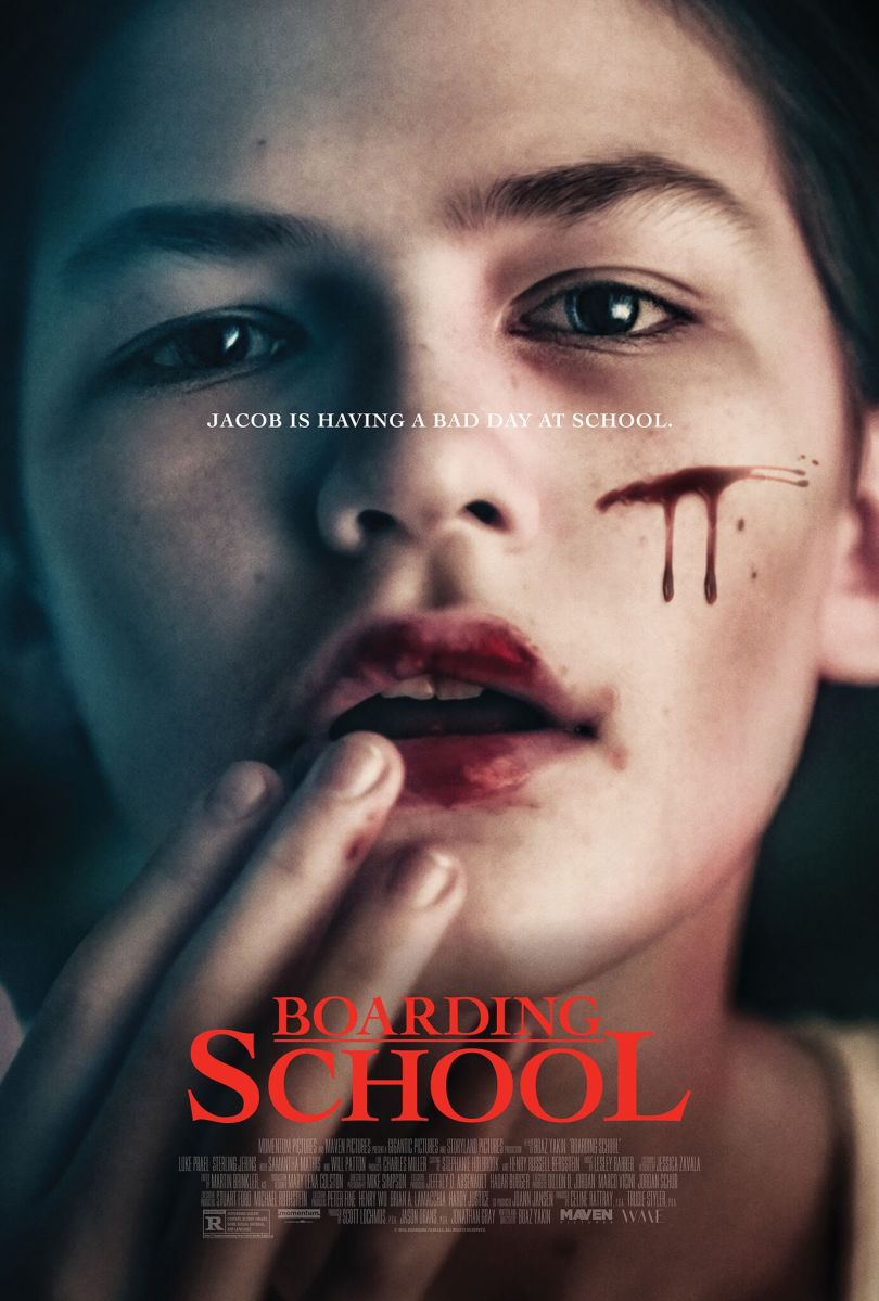 Official Trailer Premiere For Horror Thriller, BOARDING SCHOOL!
