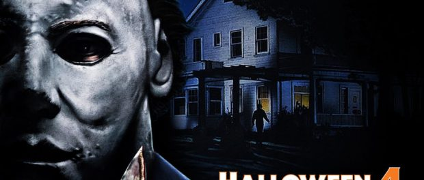 the shape comes home in halloween 4 the return of michael myers haunted house at universal studios orlandos halloween horror nights 2018