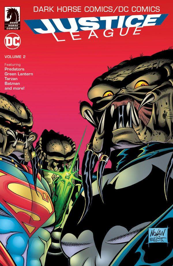 DC and Dark Horse Pit The Justice League Vs Predators!