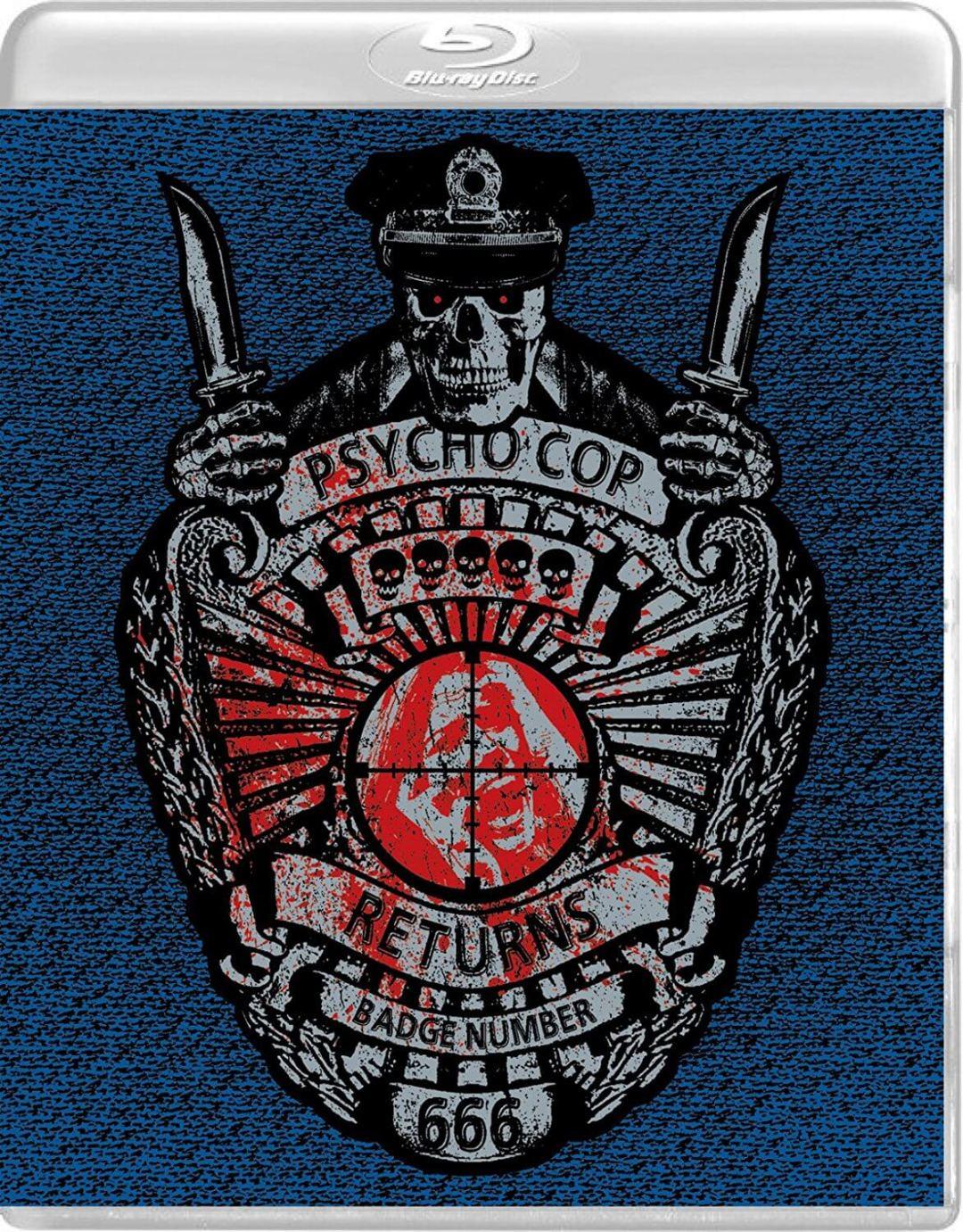 Vinegar Syndrome Is Calling Up 'Psycho Cop' To Deliver Some Brutal Justice!