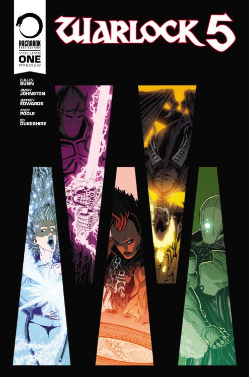 Ragnarok Has A Week Left to Fire Up 'Warlock 5' with Cullen Bunn and Jimmy Z Johnson