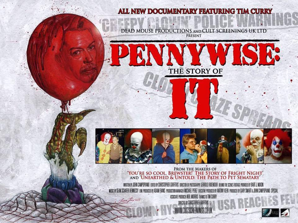 'Pennywise: The Story of IT' Documentary Has Launched On IndieGoGo