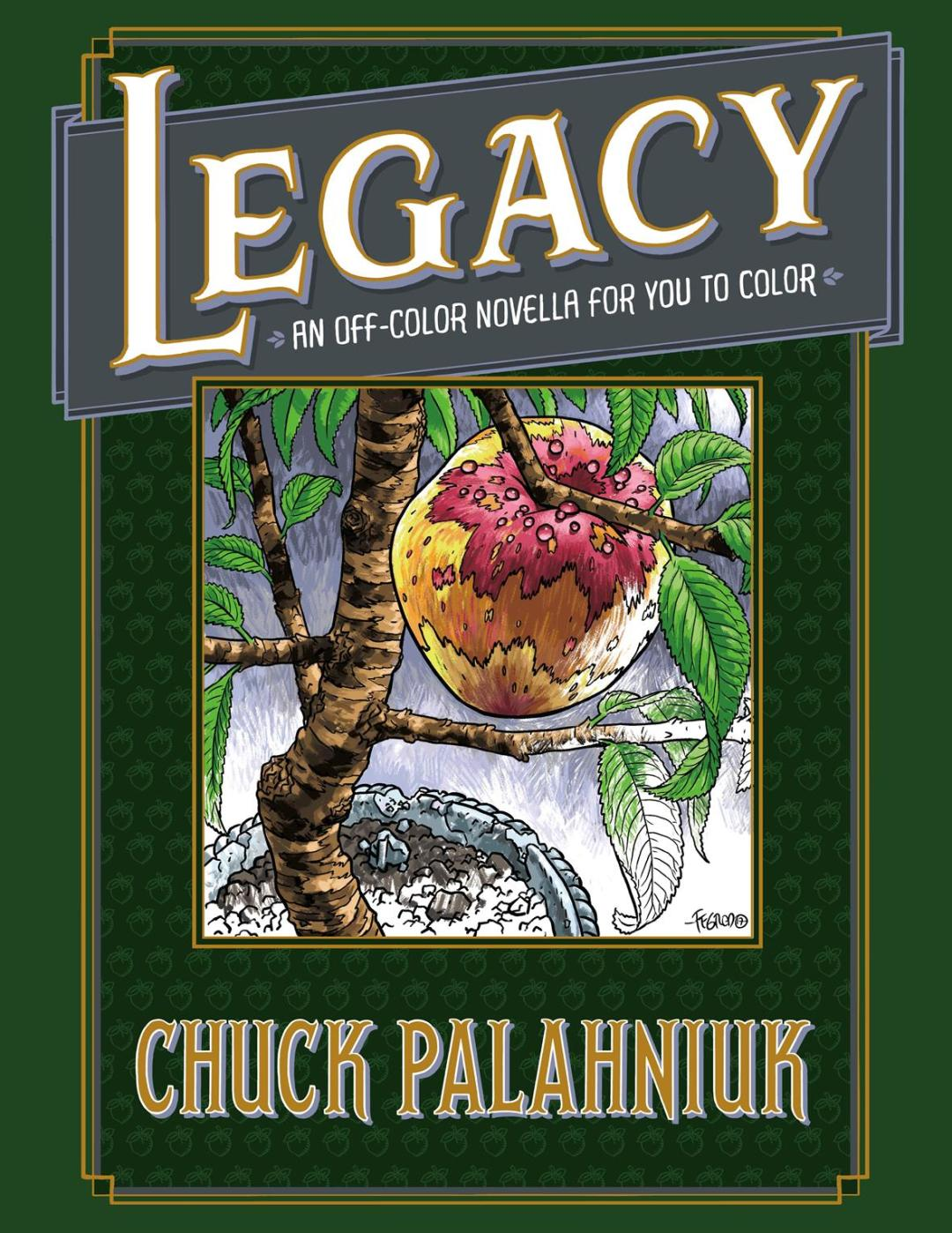 Dark Horse Books to Publish Chuck Palahniuk's First Coloring Book Novella