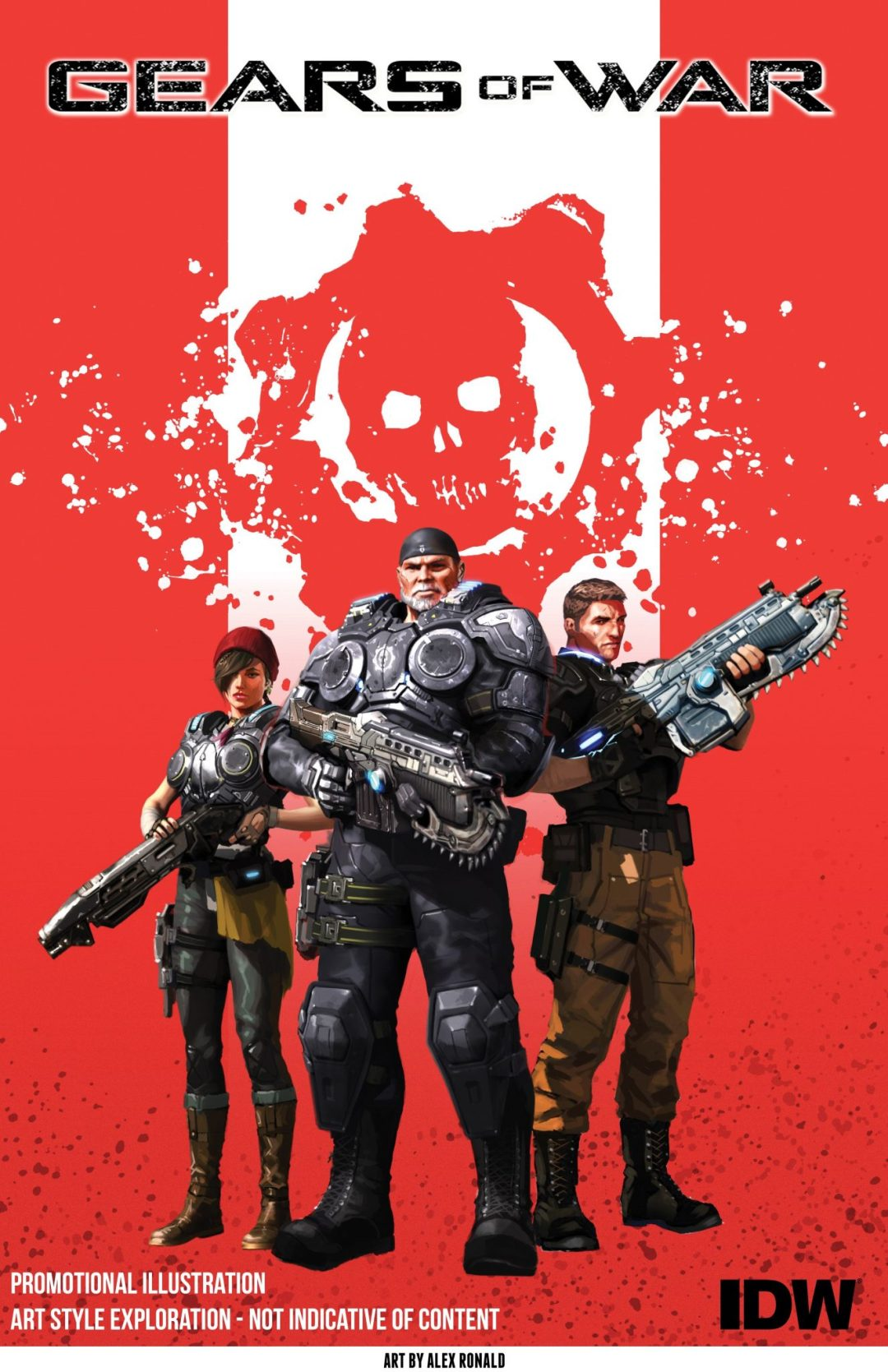 'Gears of War' Returns to Comics This January