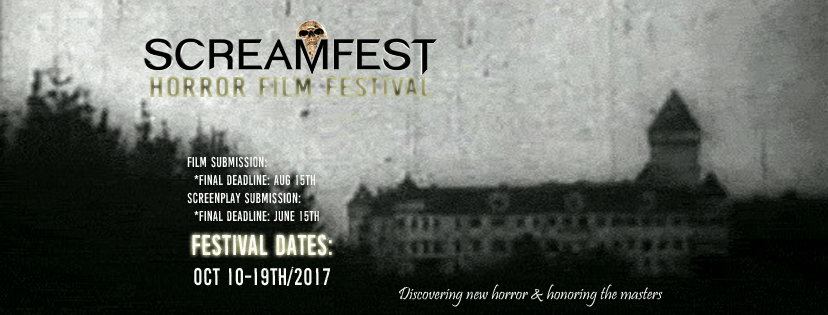 The First Films Have Been Announced For Screamfest 2017!