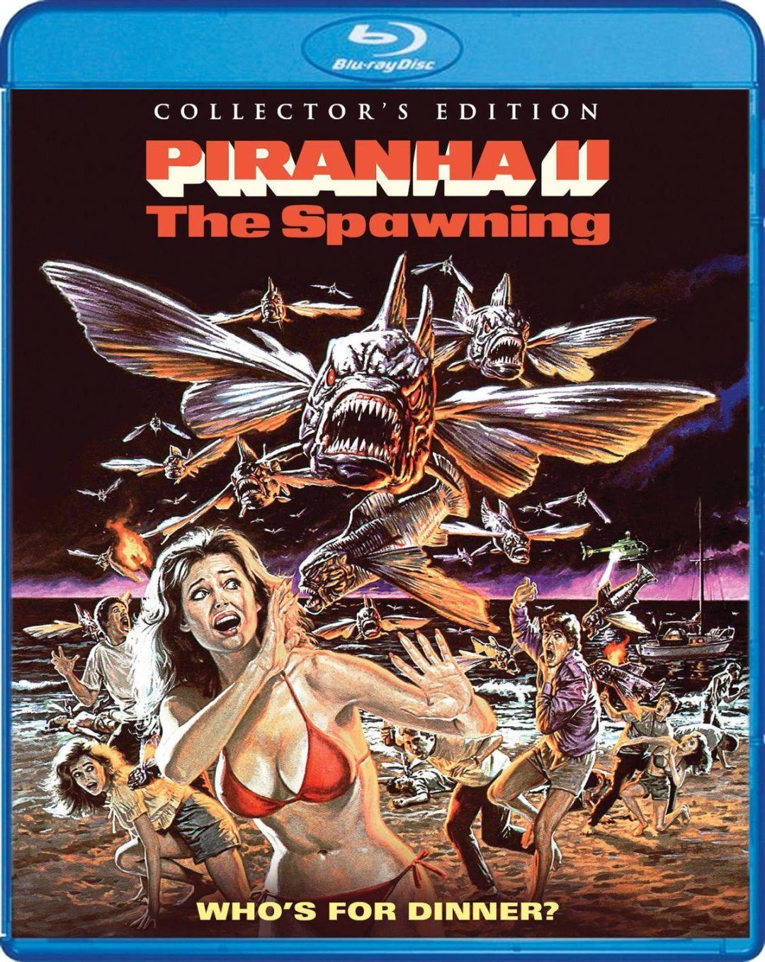Hungry For 'Piranha II: The Spawning?'
