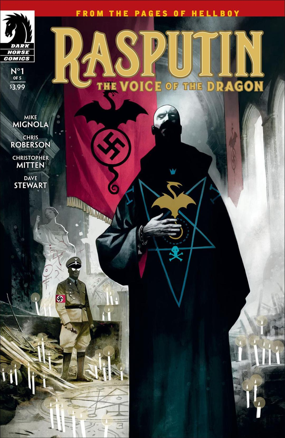 Dark Horse Comics Previews 'Rasputin: The Voice of the Dragon'
