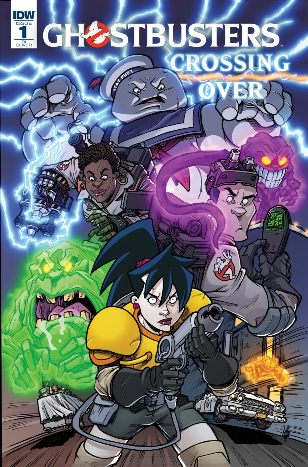"""Calling All Ghostbusters in the Biggest Comic Book """"Crossover"""" to Date!"""